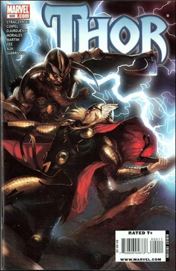 """THOR #600  (2009) """"B"""" COVER"""