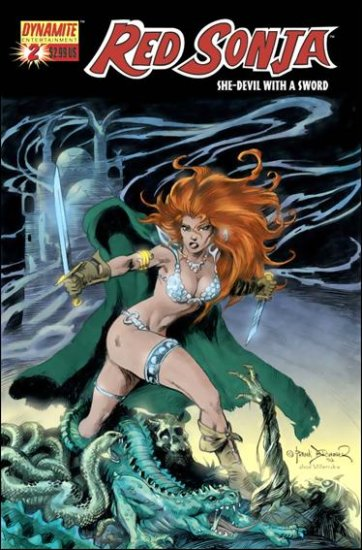 RED SONJA #2 VF/NM BRUNNER  * DYNAMITE*