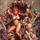 RED SONJA #4 VF/NM TAN COVER  * DYNAMITE*