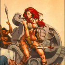 RED SONJA #6 VF/NM RUBI WRAP-AROUND COVER  *DYNAMITE*