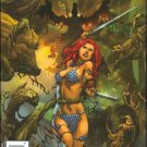 RED SONJA #11 VF/NM RUBI WRAP-AROUND COVER  *DYNAMITE*