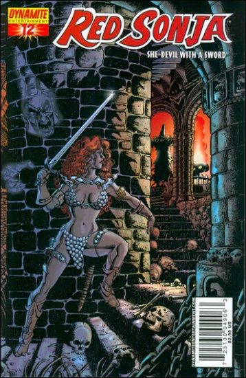 RED SONJA #12 VF/NM PEREZ COVER  *DYNAMITE*