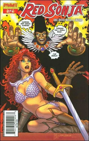 RED SONJA #12 VF/NM ROMITA COVER  *DYNAMITE*