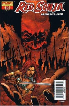 RED SONJA #15 VF/NM RUBI COVER  *DYNAMITE*