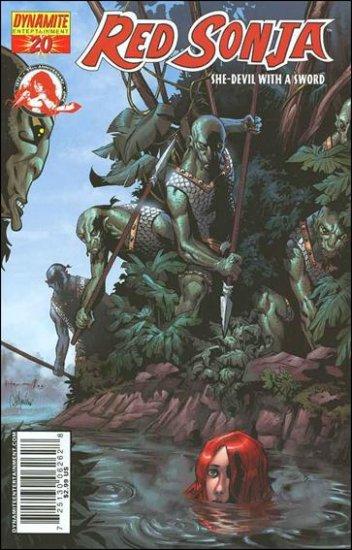 RED SONJA #20 VF HOMS COVER  *DYNAMITE*