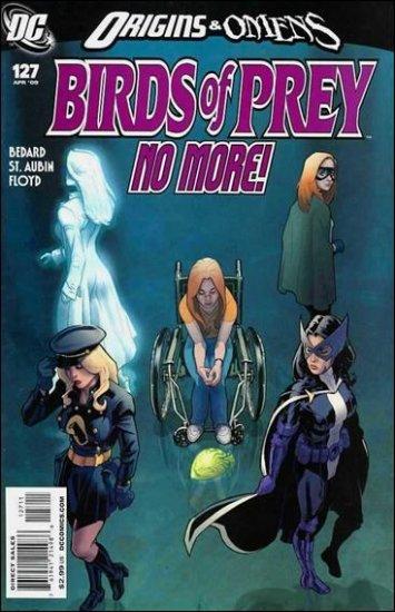 BIRDS OF PREY #127 NM (2009) FINAL ISSUE