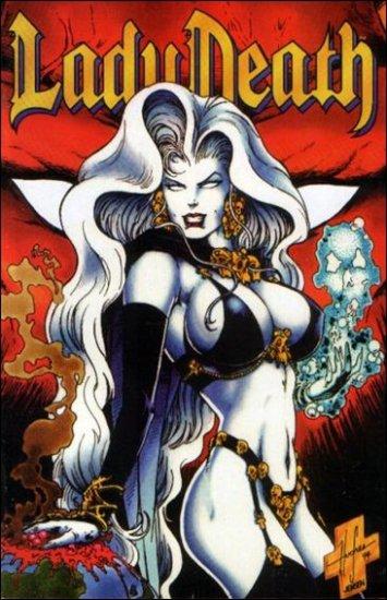 LADY DEATH II BETWEEN HEAVEN & HELL #4 (1995)