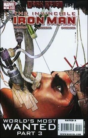 INVINCIBLE IRON MAN #10 NM (2009) *DARK REIGN*