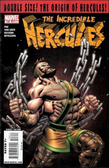 INCREDIBLE HERCULES #126 NM (2009) ORIGIN ISSUE