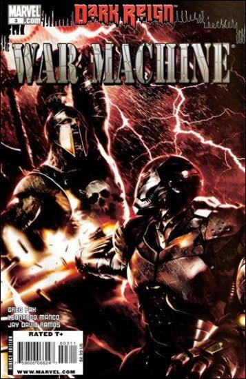 WAR MACHINE #3 NM (2009)