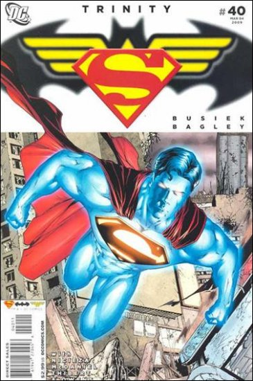 TRINITY #40 NM (2009) SUPERMAN, BATMAN, WONDER WOMAN
