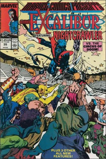 MARVEL COMICS PRESENTS (1988) #35 VF/NM