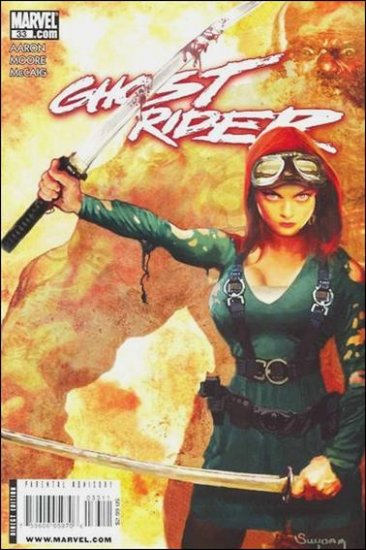 GHOST RIDER #33 NM (2009)