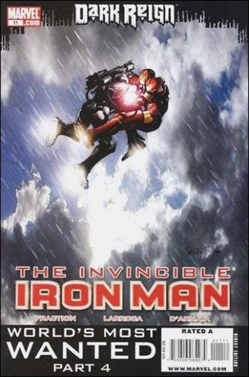 INVINCIBLE IRON MAN #11 NM (2009) *DARK REIGN*