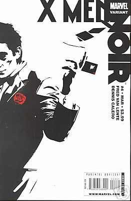 X-MEN NOIR #4 NM (2009)VARIANT COVER