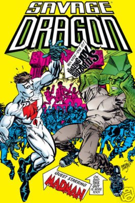 SAVAGE DRAGON #137 VF (2008) IMAGE *BARACK OBAMA*