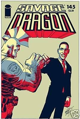 SAVAGE DRAGON #145 VF/NM (2009) IMAGE *BARACK OBAMA*