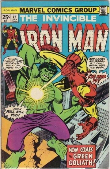 IRON MAN #76 VG/FN (1968)
