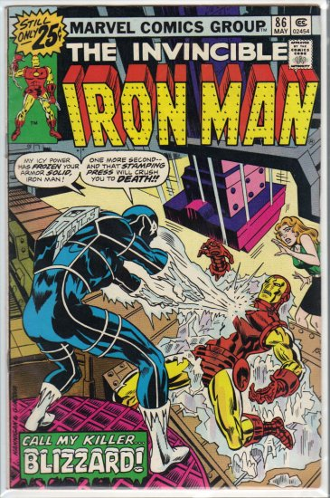 IRON MAN #86 F/VF (1968)