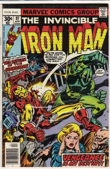 IRON MAN #97 F/VF (1968)