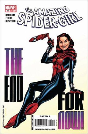 AMAZING SPIDER-GIRL #30 NM (2008)