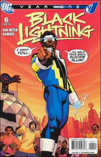 BLACK LIGHTNING YEAR ONE #6 NM (2009)