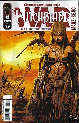 "WITCHBLADE #125 NM (2009) CVR ""A"""