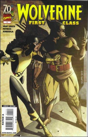 WOLVERINE FIRST CLASS #11 NM (2009)