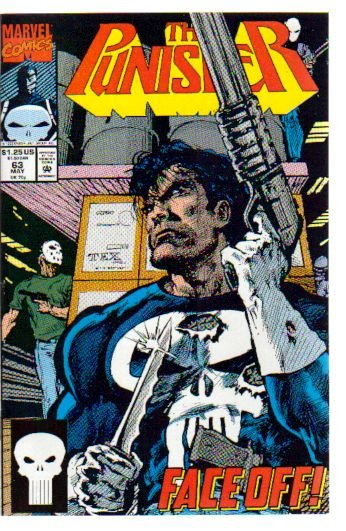 PUNISHER #63 VF/NM  (1987)