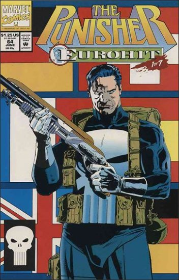 PUNISHER #64 VF/NM (1987)