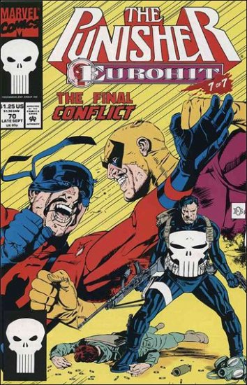 PUNISHER #70 VF/NM (1987)