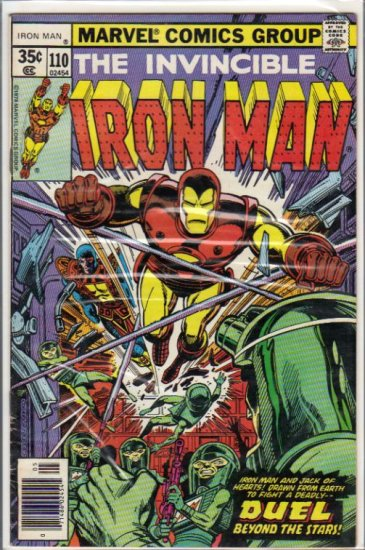 IRON MAN #110 VG/F (1968)
