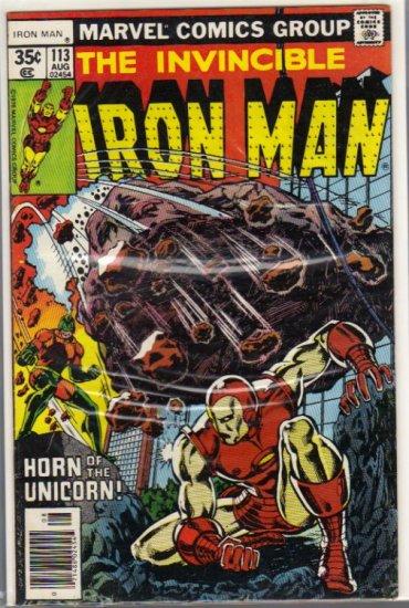 IRON MAN #113 FN+(1968)