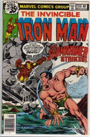 IRON MAN #120 VF- (1968)
