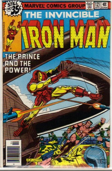 IRON MAN #121 F/VF (1968)