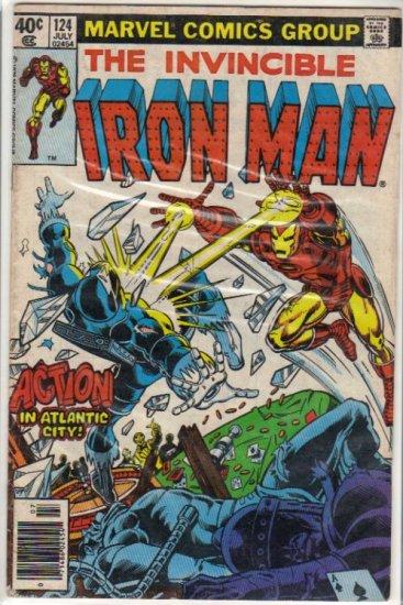 IRON MAN #124 VG(1968)