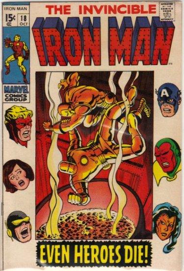 IRON MAN #18 FN (1968)
