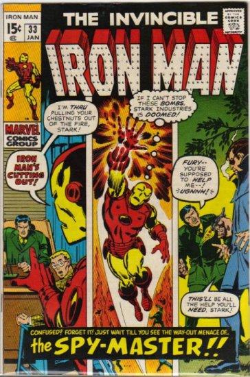 IRON MAN #33 VF (1968)