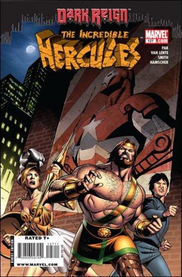 INCREDIBLE HERCULES #127 NM (2009) *DARK REIGN*