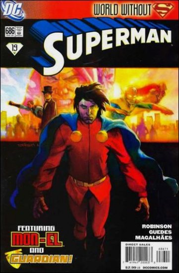 SUPERMAN #686 NM (2009) *WORLD WITHOUT SUPERMAN*