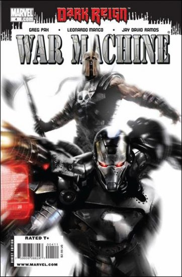 WAR MACHINE #4 NM (2009) *DARK REIGN*