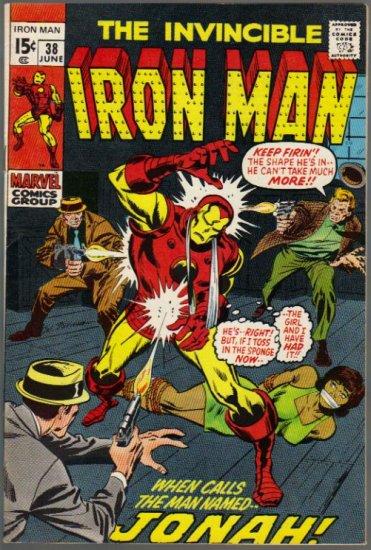 IRON MAN #38 FN+ (1968)