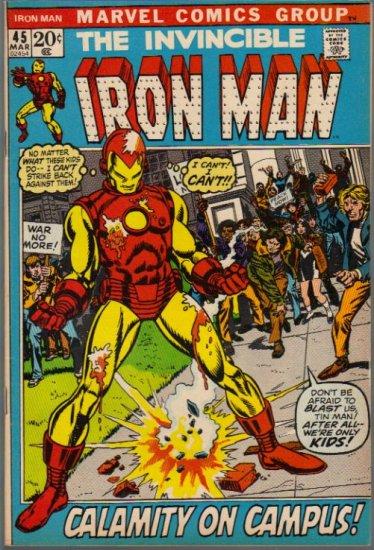 IRON MAN #45 FN/VF (1968)