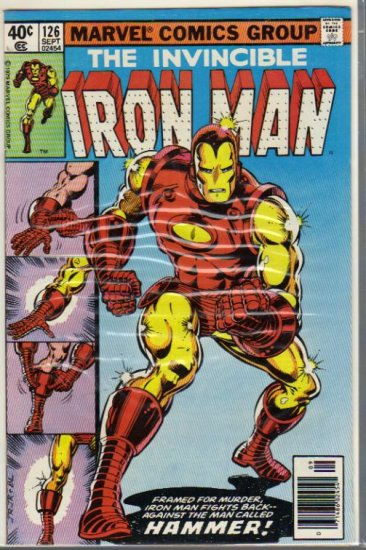 IRON MAN #126 FN+ (1968)