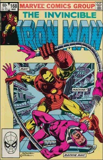 IRON MAN #168 FN/VF (1968)