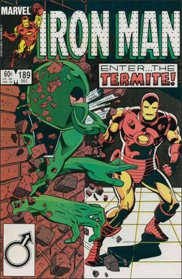 IRON MAN #189 VF- (1968)