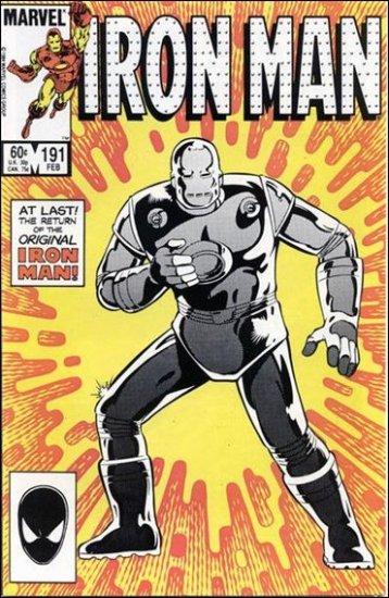 IRON MAN #191 VF/NM (1968)