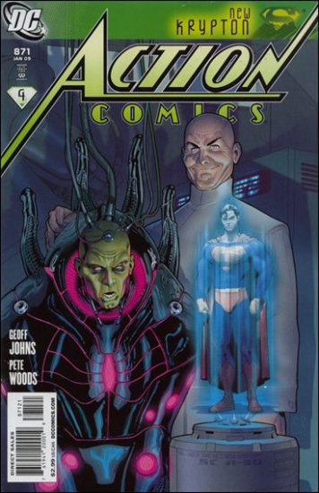 "ACTION COMICS #871 NM (2008)""VARIANT COVER"""