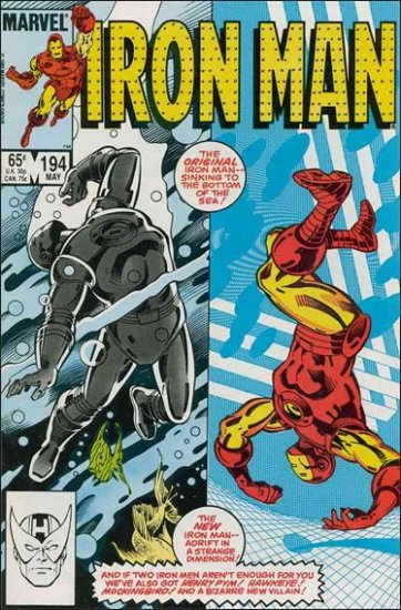 IRON MAN #194 VF/NM (1968)