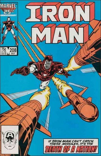 IRON MAN #208 VF (1968)